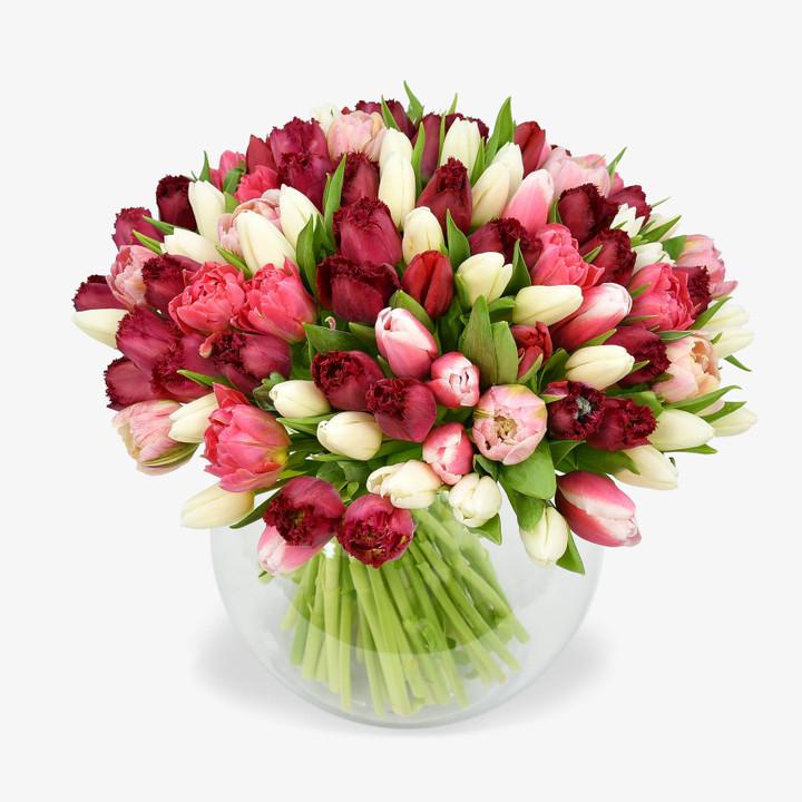 British Tulips Bouquet