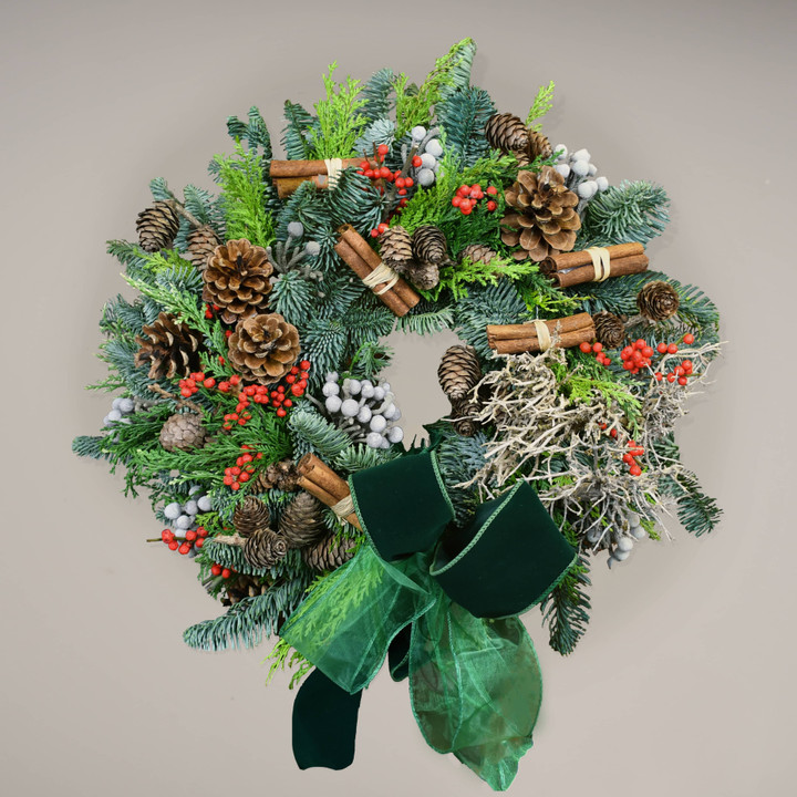 Traditional Christmas wreath Making class