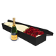 12 Red Roses with Veuve