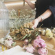 Dried Flowers Arranging