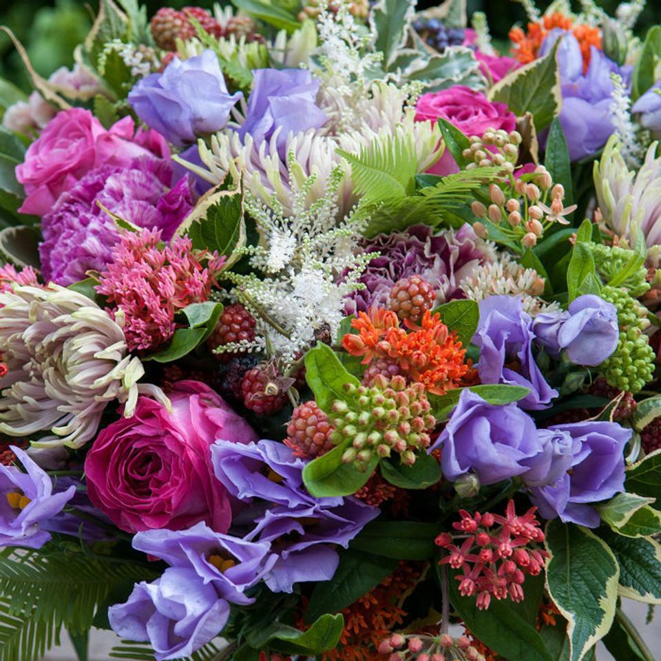 Carnival Roses Bouquet - Moyses Stevens Flowers