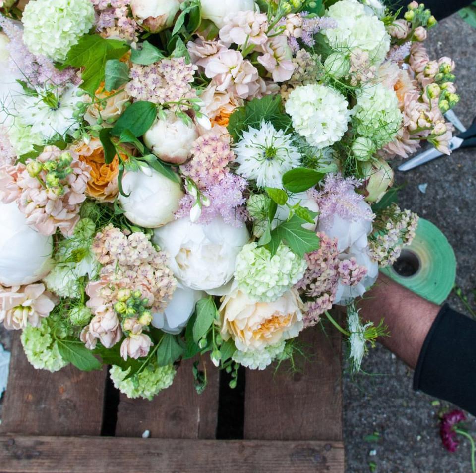 Hand Tie Bouquets