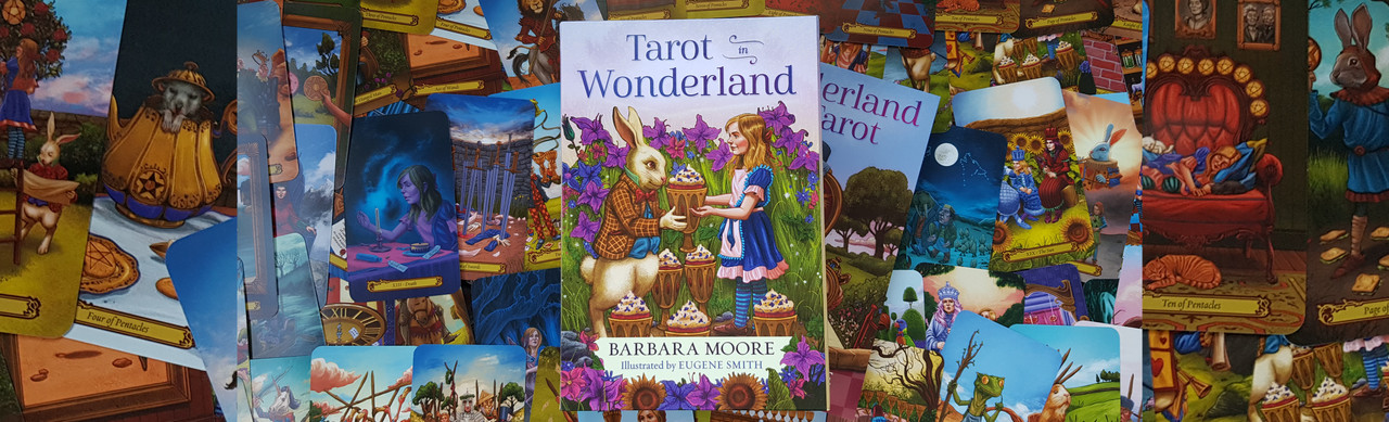 Journey down the rabbit hole and into a very tarot world indeed.