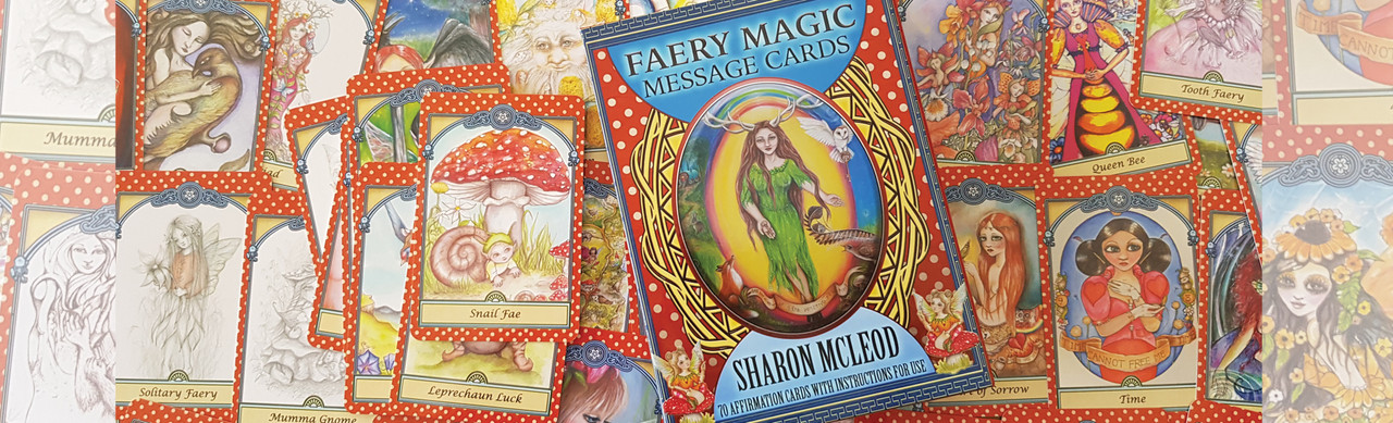 Call on the powers of the Gnomes, Earth Spirits, and the Faeries with beloved Australian artist Sharon McLeod.