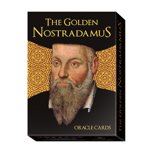 Golden Nostradamus Oracle Cards