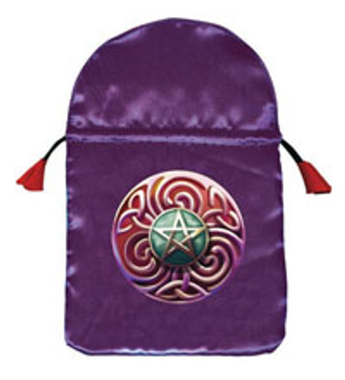 Magic star Tarot Bag (Satin)