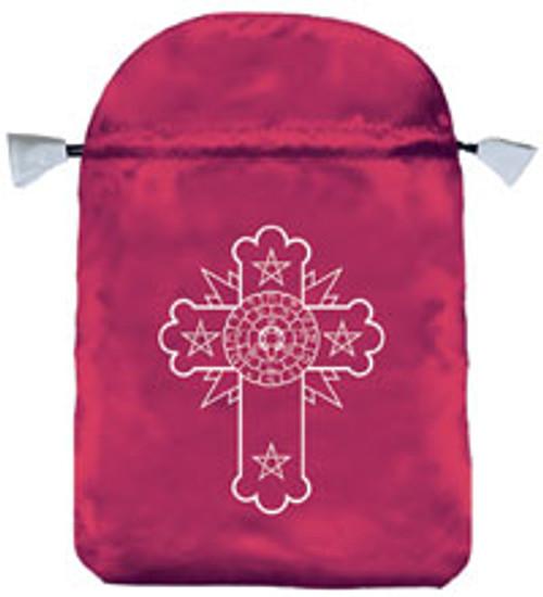 Rosicrucian Tarot Bag (Satin)