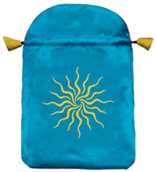 Sunlight Satin Tarot Bag