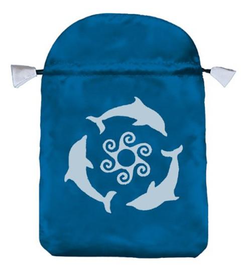 Dolphins Tarot Bag (Satin)