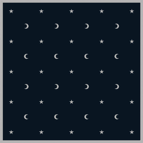 Tarot Cloth - Moon & Stars