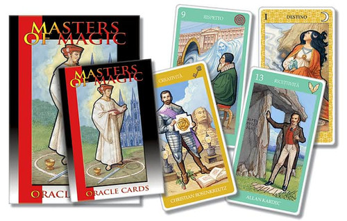 Masters of Magic Oracle Cards