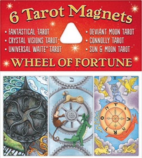 Tarot Magnets - Wheel of Fortune