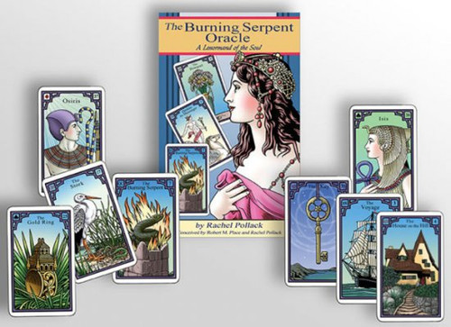 The Burning Serpent Oracle & book