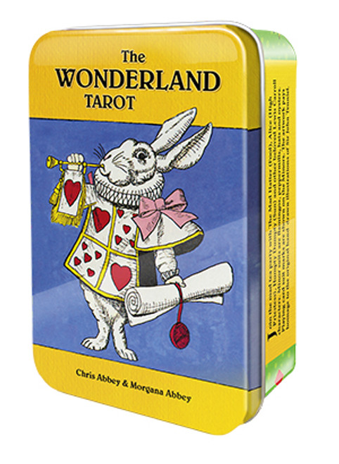The Wonderland Tarot in a Tin