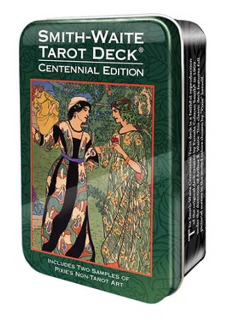Smith-Waite Tarot Deck - Centennial Edition - in a tin