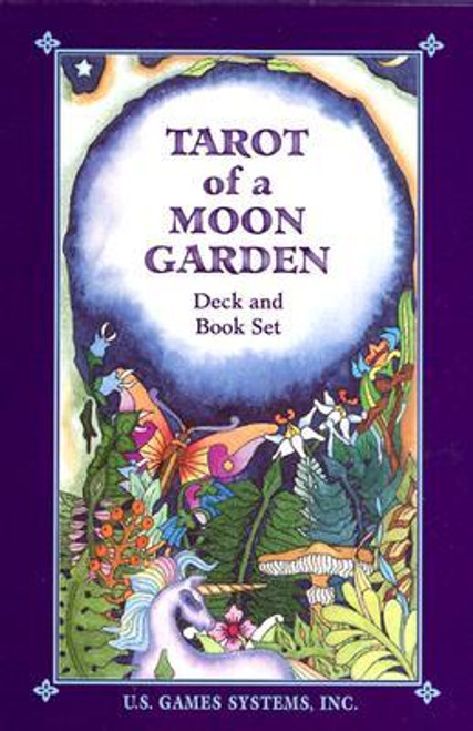 Tarot of a Moon Garden Cards Deck and Book Set