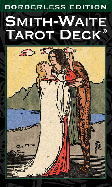 Smith-Waite Tarot Deck Borderless Edition