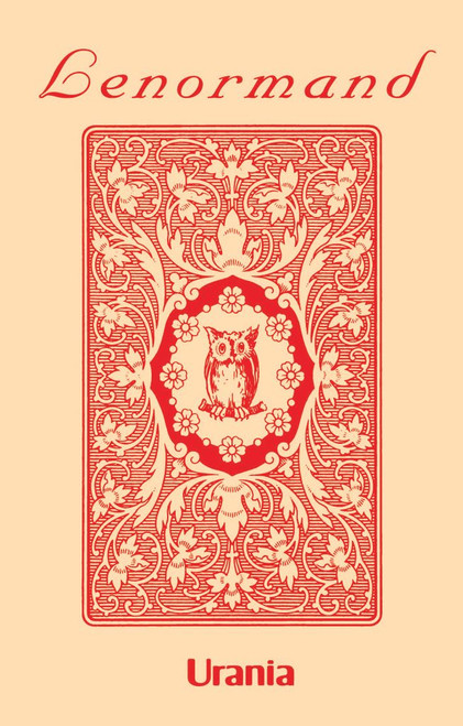 Mlle Lenormand Red Owl Oracle Cards