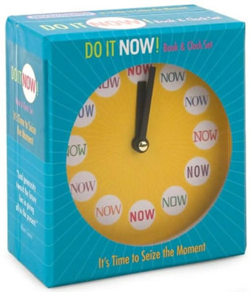 Do It Now! Book & Clock Set