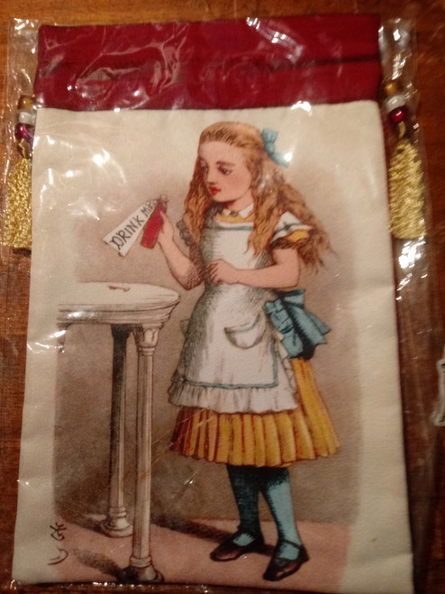 Alice in Wonderland Tarot Bag - 'Drink Me'