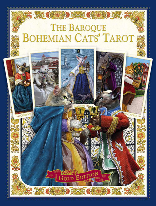 The Baroque Bohemian Cats' Tarot - Gold Edition