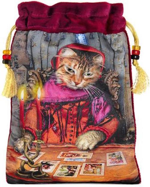 Baroque Bohemian Cats  - 'The Tarot Reader' - Limited Edition Tarot Bag