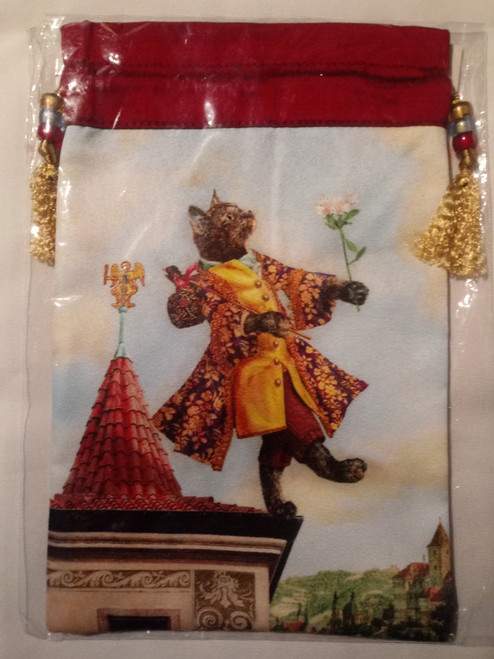 Baroque Bohemian Cats  - 'The Fool' - Limited Edition Tarot Bag
