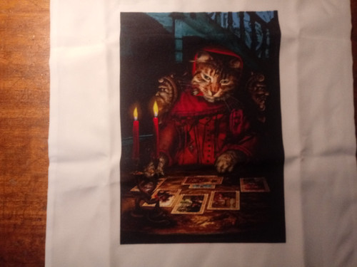 Baroque Bohemian Cats  - 'The Tarot Reader' - OOP Tote Bag