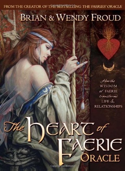 The Heart of Faerie Oracle - Book & Cards Set