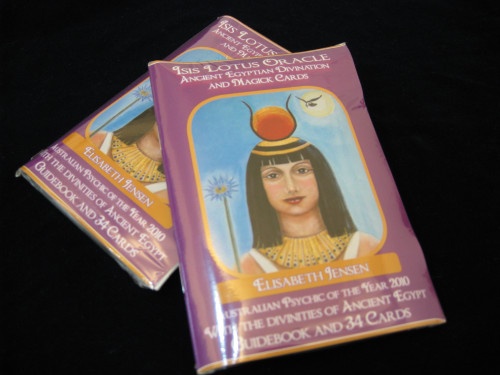 Isis Lotus Oracle: Ancient Egyptian Divination & Magick Cards