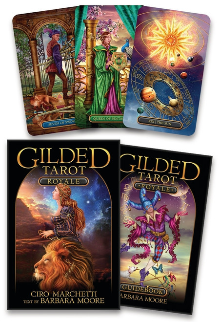 Gilded Tarot Royale Set, Updated