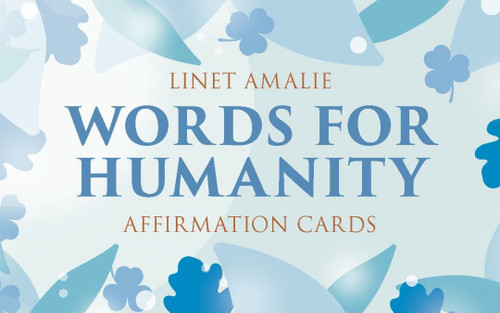 Words for Humanity Affirmation Cards