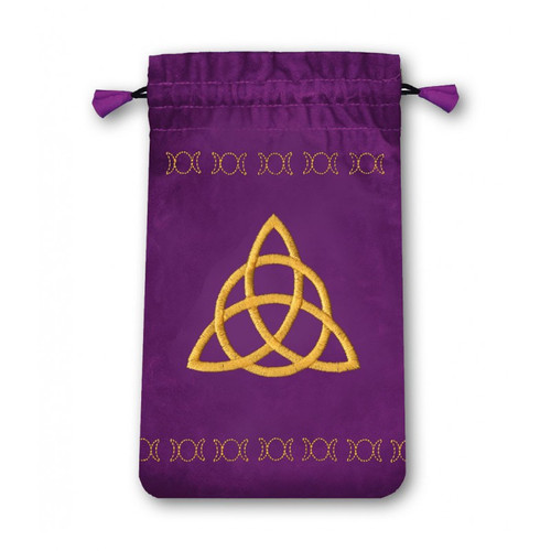 Triple Goddess Mini Velvet Tarot Bag