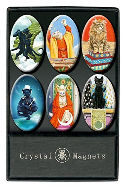 Crystal Magnets - Cats