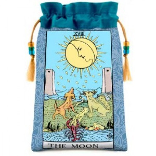 Rider Waite - The Moon Tarot bag