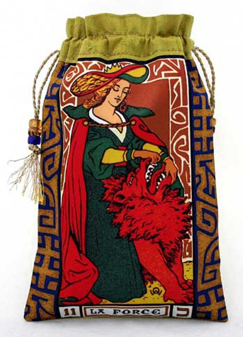 Wirth Tarot - La Force (Strength) Tarot Bag