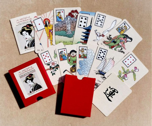 An Ukiyo-e Lenormand