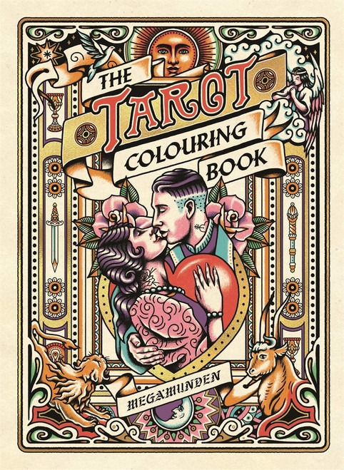 The Tarot Colouring Book
