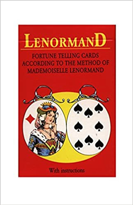 Mlle Lenormand Fortune Telling Playing Cards