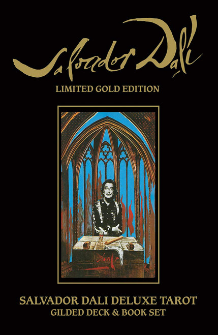 Salvador Dali Deluxe Tarot: Gilded Deck and Book Set