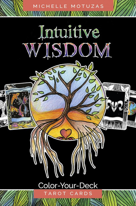 Intuitive Wisdom: Color-Your-Deck Tarot Cards