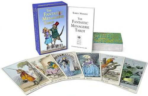 The Fantastic Menagerie Tarot - 2nd Edition, Tarot Bag & Companion Book