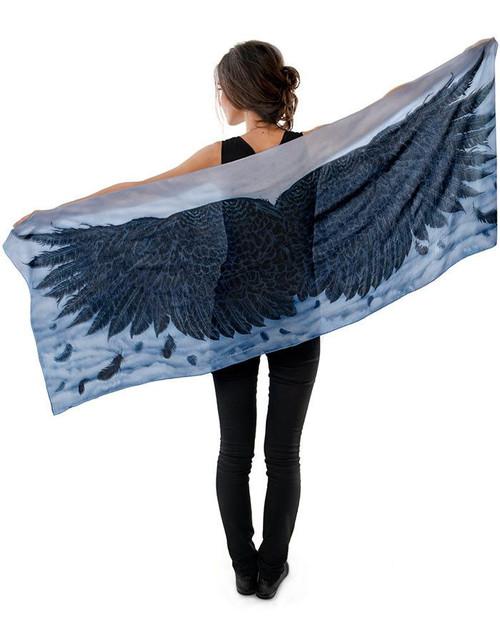 Wings of an Angel Scarf - Black Version