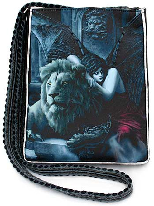 Bohemian Gothic Shoulder Bag with woven strap