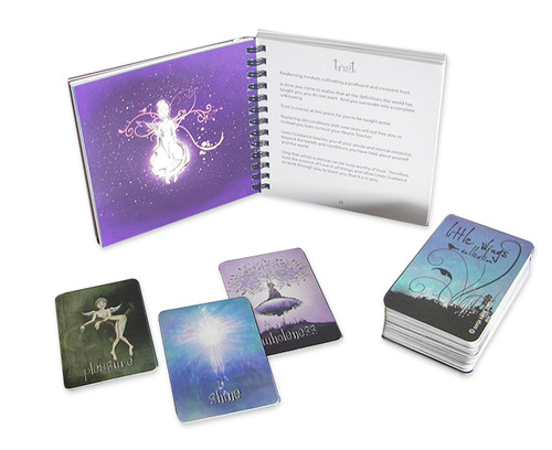 Little Wings Collection Guidance Oracle Cards  (Purple Organza Bag)