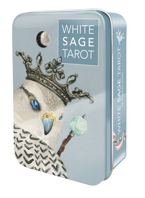 White Sage Tarot in a tin