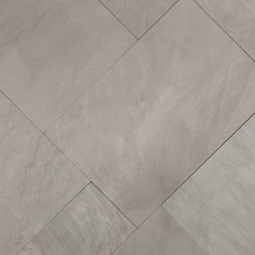 Dior Grey Square Cut Flagstone