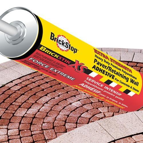 Wall Adhesive Brickstop Sm Pc 10.1 Oz Small Per Piece