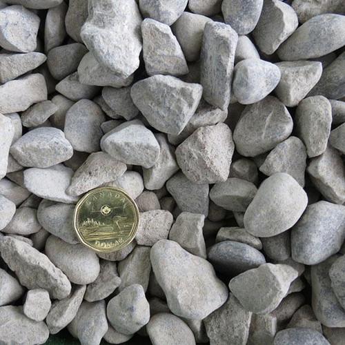 3/4 Clear Limestone Bagged (50 lbs)
