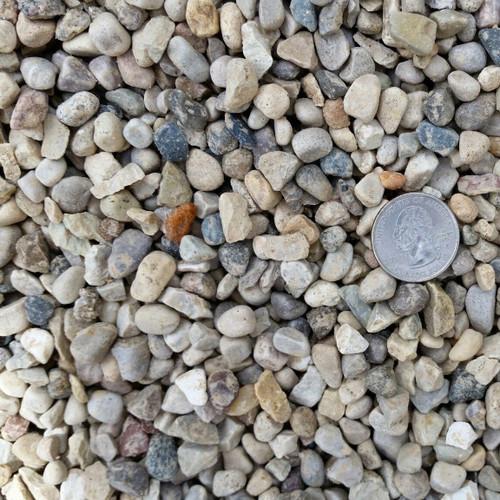 Pea Gravel Bagged (50 lbs)